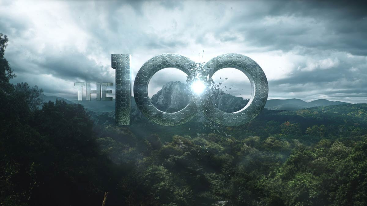 header The 100 title