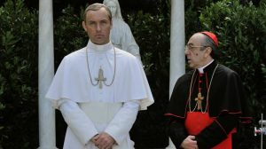 Voiello with Lenny the Pope