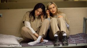 alex vause and piper chapman, OITNB season 1