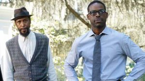 Randall Peerson with William, This Is Us season 1