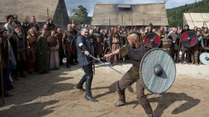 Ragnar Lothbrok vs Haraldson, Vikings season 1