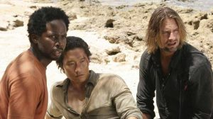 Sawyer, Jin and Michael season 2 Lost