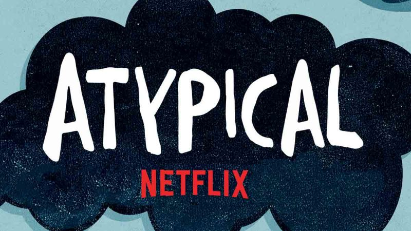 Atypical header Netflix title
