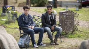 Clay Jensen and Tony Padilla thinking and talking about Hannah Baker, 13 Reasons Why - Tredici