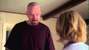 "Walter White to Skyler ""I'm not in danger, SKyler. I'm the danger""; Breaking Bad season 4"