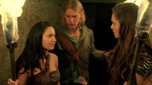 Wil, Amberle and Eretria The Shannara Chronicles season 1, prima stagione TV8