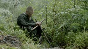 Ragnar saying goodbye to Athelstan, Vikings season 3