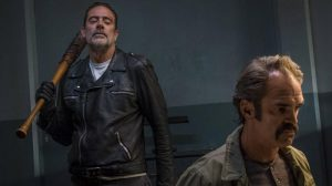 Negan with Simon, TWD season 8 _ The Walking Dead