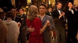 Thomas Shelby with Grace during the meeting with Billy Kimber the king, Peaky Blinders season 1