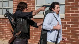 Eugene Porter kidnapped by Daryl Dixon, twd season 8
