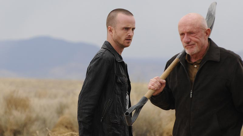 Jesse Pinkman, Mike, season 4 Breaking Bad