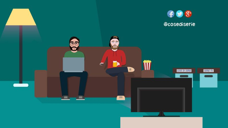 Two admin watching tv series _ Cose di Serie