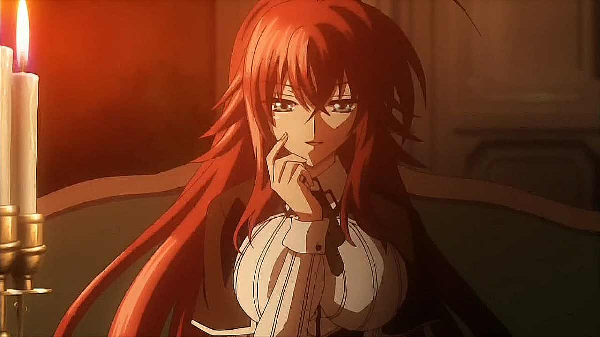 Rias Gremory, High School DxD