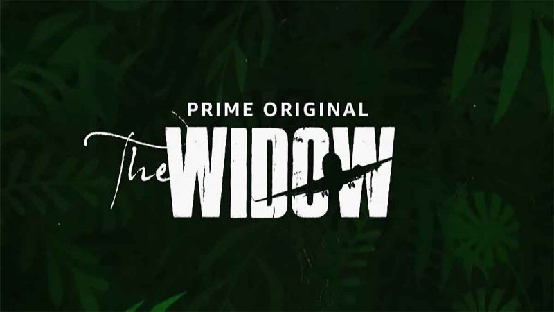 The Widow Amazon Prime Video header title