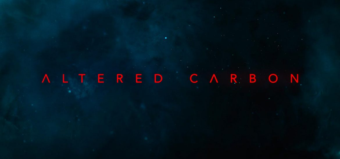 Altered Carbon, header title copertina titolo Netflix
