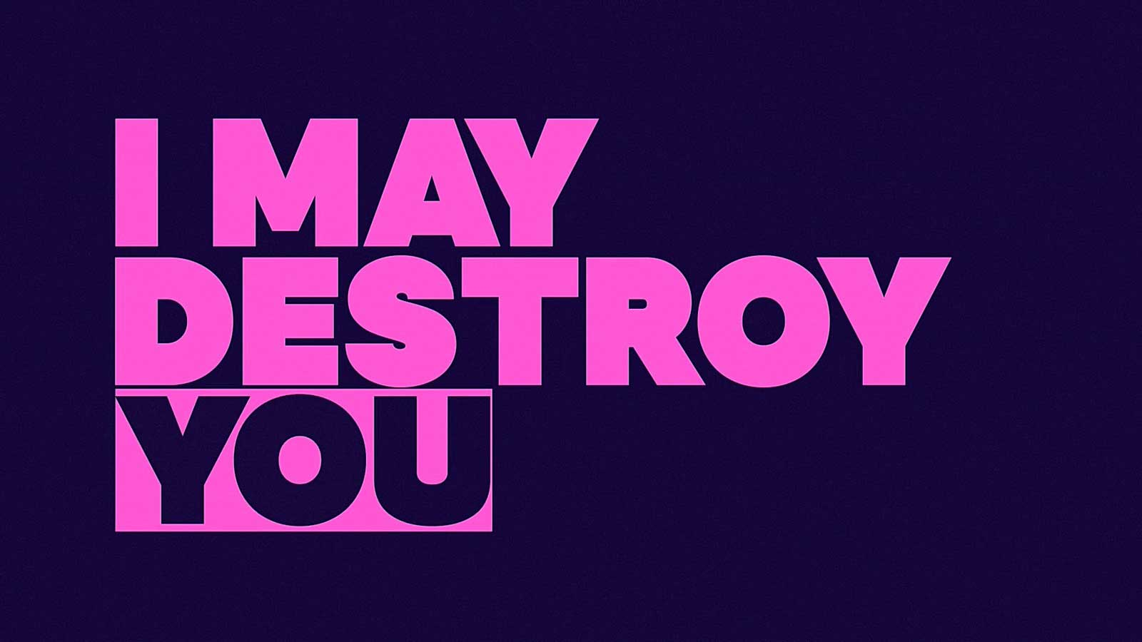 I May Destroy You, Cose di Serie